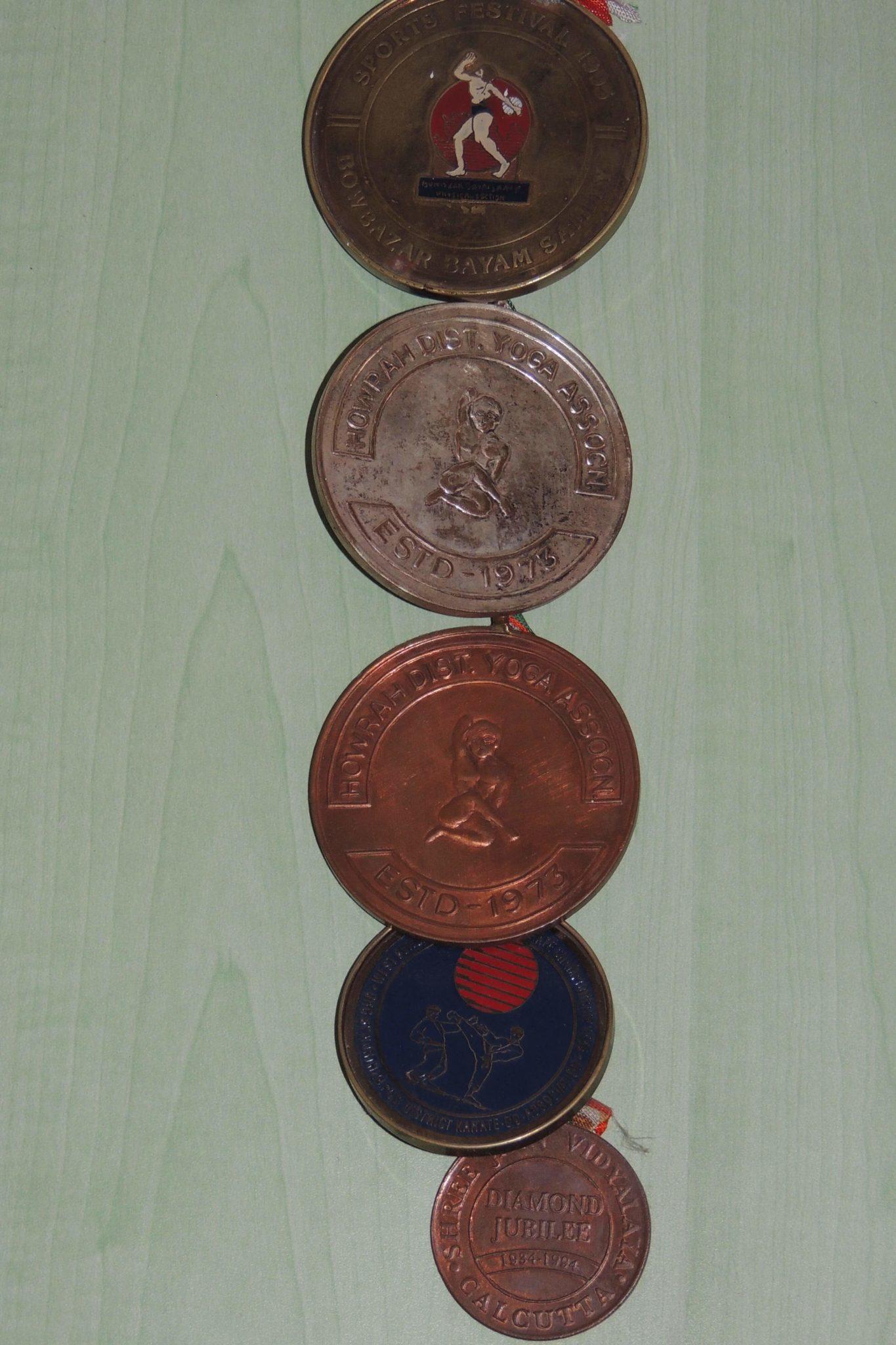 Dr Sandeep Shah Medals
